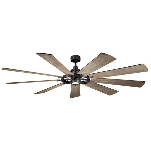 Gentry XL 85-inch LED Ceiling Fan (3-finish options)