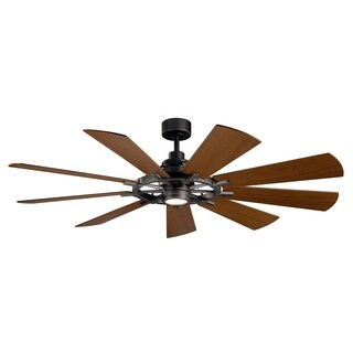 Gentry 65-inch LED Ceiling Fan (3-finish options)