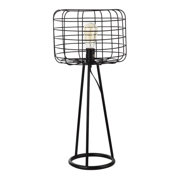 Shop Aurelle Home Industrial Style Table Lamp On Sale Free