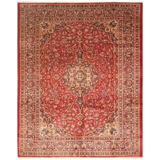 Handmade Kashan Wool Rug (Iran) - 10'1 x 12'8