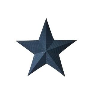 Handmade Rustic Tin Star - Black