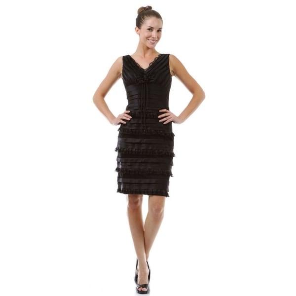 Modest Short Evening Dress