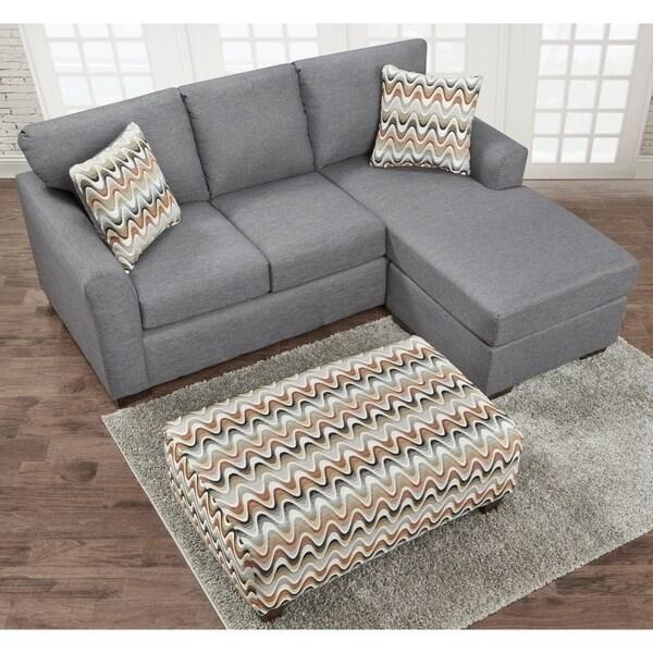 Charlie Contemporary Sofa Chaise