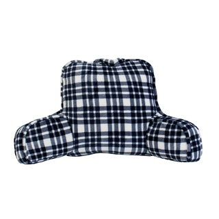 "24x20"" Cassidy Classic Plaid Fleece Bed Rest"