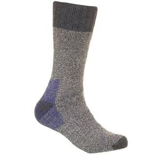 Woolrich Men's Merino Wool Blend Cold Weather Socks 2pk Navy Large