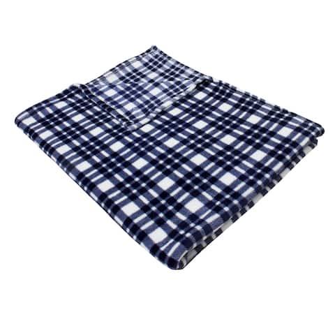 Cassidy Classic Plaid Fleece Blanket