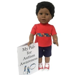 My Pal 18 inch boy Doll - for Autism Awareness