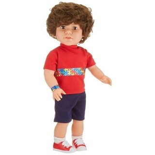 My Pal 18 Inch Boy Doll for Autism Awareness, Light Skin