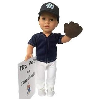 My Pal 18 inch boy Doll for Baseball- Medium Skin