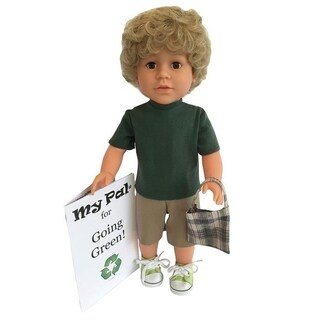 My Pal 18 inch boy Doll for Going Green