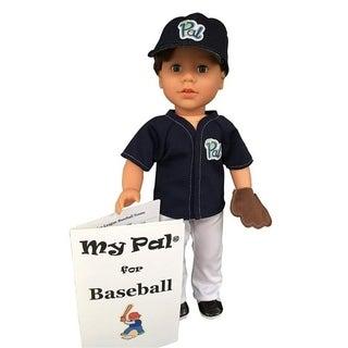 My Pal 18 inch boy Doll for Baseball- Light Skin