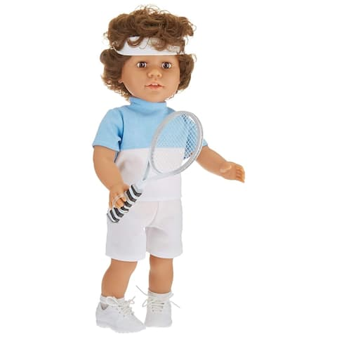 "My Pal for Tennis 18"" Doll, with Medium Skin Color"