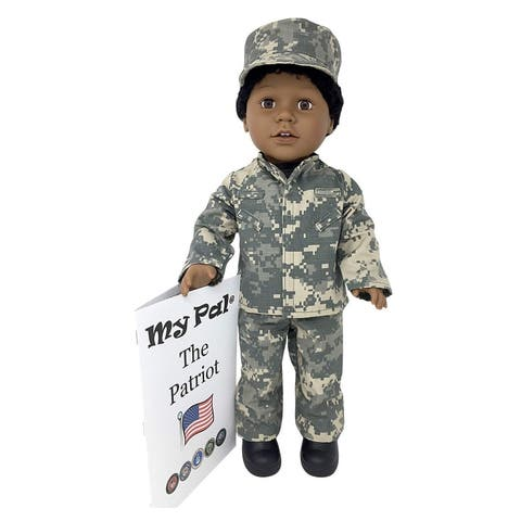 "My Pal The Patriot 18"" Doll, Dark Skin Color"