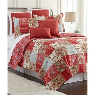 Sherry Kline Manhattan Printed Cotton 3-piece Quilt Set