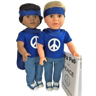 """My Pal for Peace, The Super Hero 18"""" Doll with Light Skin Color"""