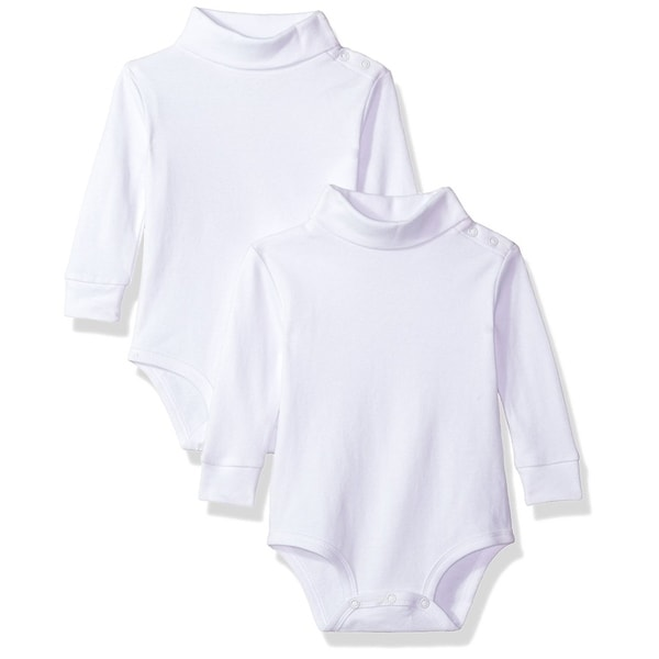 2 Pack T-Neck Bodysuit