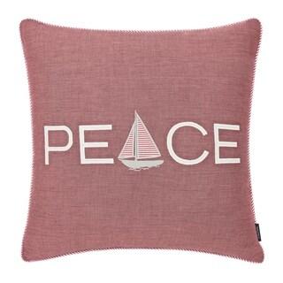 Nautica Peaceful Sailing Throw Pillow