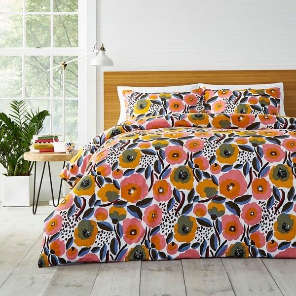 Marimekko Rosarium Comforter Set - Multi