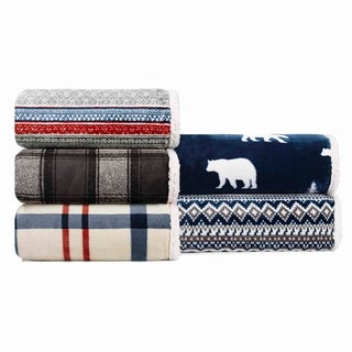 Link to Eddie Bauer Oversized Ultra Plush Sherpa Throws Similar Items in Decorative Accessories