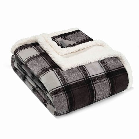 Eddie Bauer Oversized Ultra Plush Sherpa Throws