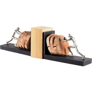 Mercana Endure Metal/Wood Book Ends