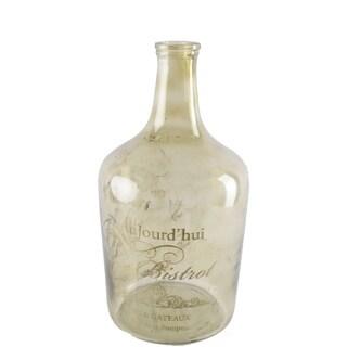 Mercana Alexi II Clear Glass Medium Apothecary Bottle