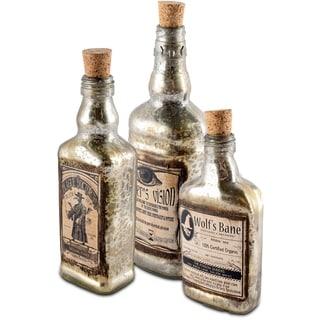 Mercana Alana (Set of 3) Apothocary Bottle