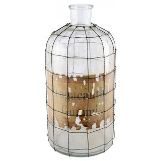 Mercana Andrina I Clear Glass Large Apothecary Bottle