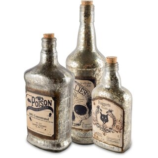 Mercana Arista (Set of 3) Apothocary Bottle