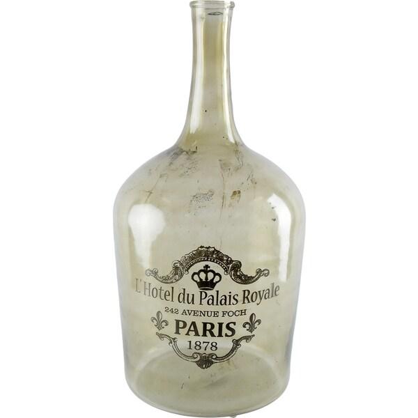 Mercana Alexi I Green Glass Large Apothocary Bottle