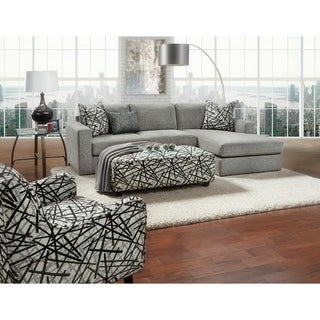 Bradley Pewter Chaise Sofa Sectional