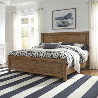 Carbon Loft Wallace Brown Wood King Bed