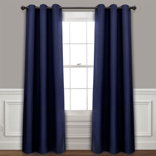 Lush Decor Absolute Blackout Window Curtain Panel Pair. Opens flyout.
