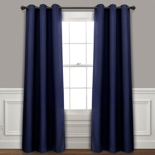 Lush Decor Absolute Blackout Window Curtain Panel Pair