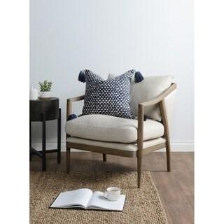 Kosas Home Taka & Atami Indigo Throw Pillow Set (Set of 2)