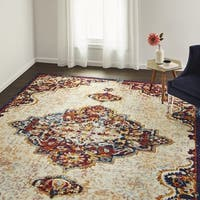 The Curated Nomad Cannavale Medallion Area Rug