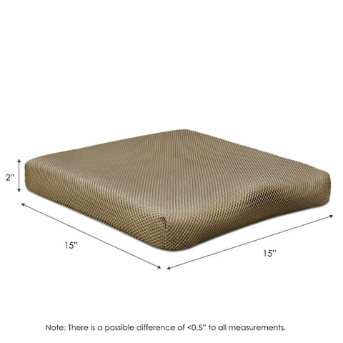 Furinno Seat Cushion 3D Mesh Cover 10Lbs In Density