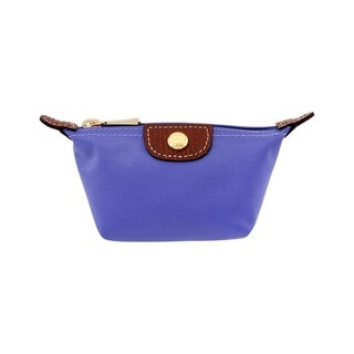 Longchamp Le Pliage Nylon Coin Purse Lavender