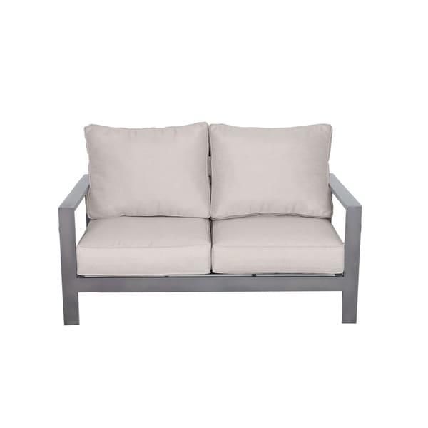 Tahiti Patio Love Seat with Cushion