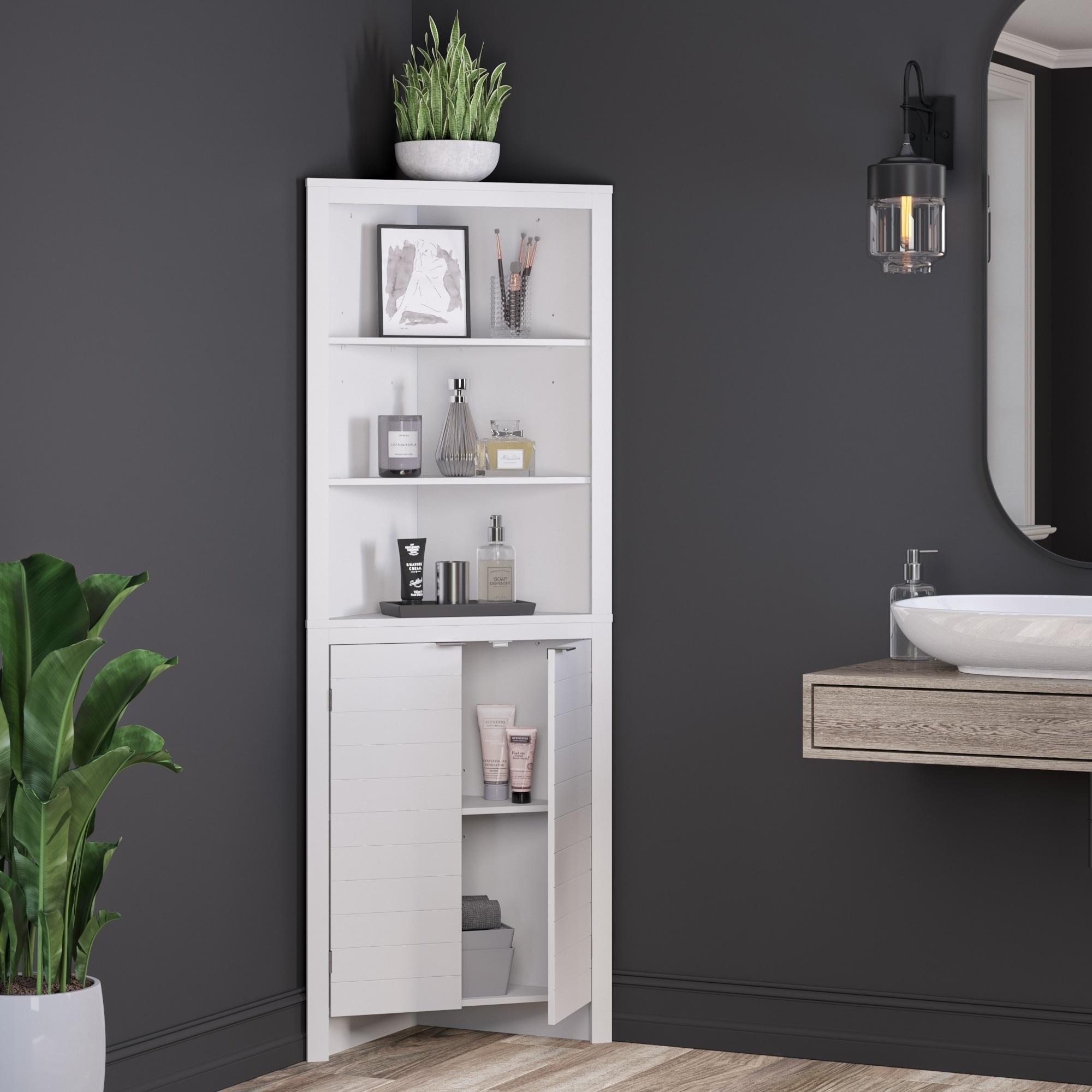 Tall Corner Cabinet
