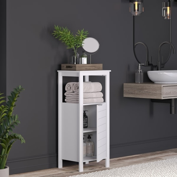 RiverRidge Madison Collection Single Door Floor Cabinet