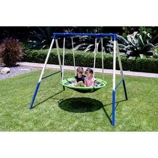 Buy Metal Swing Sets Online At Overstock Our Best Outdoor Play Deals