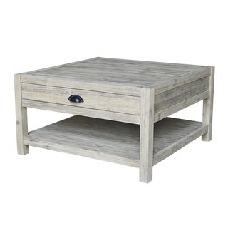 Modern Rustic Square Coffee Table