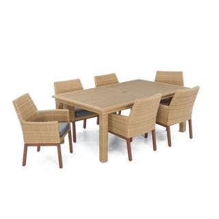 Mili 7pc Dining Set in Charcoal Grey by RST Brands