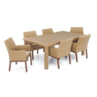 Mili 7pc Dining Set in Maxim Beige by RST Brands