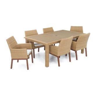 Mili 7pc Dining Set in Moroccan Cream by RST Brands