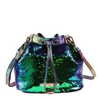Nicole Lee Sequins Bucket Bag