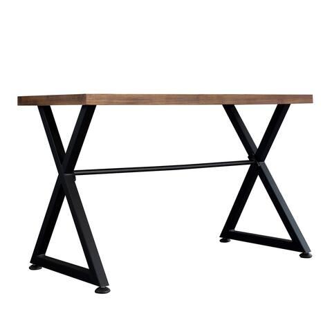 Carbon Loft Fowler Industrial Computer Desk Table
