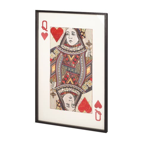 Mercana Queen of Hearts Wall Art