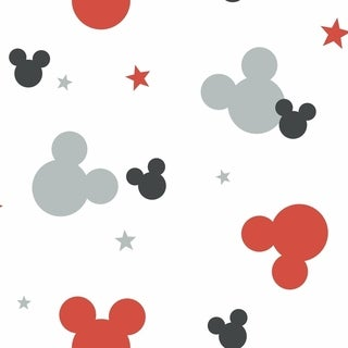 Disney Mickey Mouse Wallpaper 20.5 in. x 33 ft. 56sq.ft
